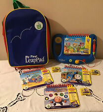 My First Leap Pad 4 Books & Cartridges Ruck Sack Bag Thomas the Tank Engine ABC