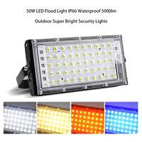 LED Security Floodlight 50W Flood Lights Indoor Outdoor Garden Waterproof Lamp