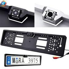 Portatarga con Telecamera Retromarcia Retrocamera 170° Nottura Auto Camper -UNIV