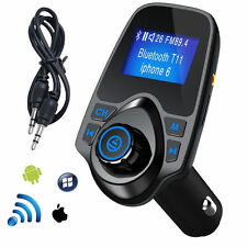 Bluetooth Car Kit FM Transmitter Wireless Radio Adapter USB Charger for Pho
