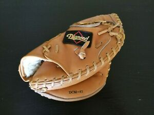 Diamond DCM-45 Leather Catchers Mitt Glove -USED, VGC