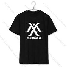 KPOP Monsta X T-shirt THE CLAN Album Tshirt Unisex Tee I.M Shownu Jooheon Cotton