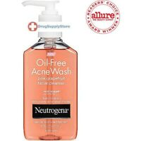 Neutrogena Oil-Free Acne Wash Facial Cleanser, Pink Grapefruit - 6 Oz
