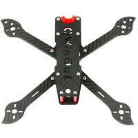 JMT 4x 3K Carbon Fiber Motor Fixed Seat Plate for DIY RC Drone Frame Clamp Mount