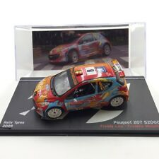 Peugeot 207 s2000 Rally Ypres 2009 1/43 La Passion of Rally Ixo Altaya