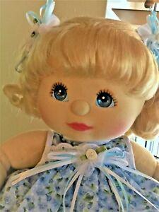 My child doll ringlet blonde