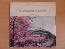 """Echo And The Bunnymen - Never Stop  (7"""" Vinyl)"""