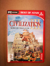 Sid Meier's Civilziation III - Civ 3 2002 RTS PC GAME - Classic Strategy Game