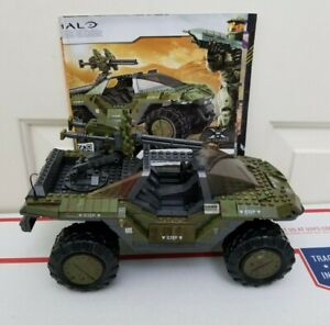 Mega Bloks Halo 10th Anniversary Edition UNSC Warthog Tank 96973