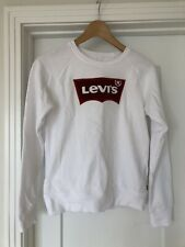 Levi's White sweatshirt Girl Size 12-13. Excellent Condition.