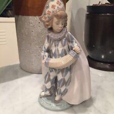 Lladro Harlequin jester Figurine Concertina 5695