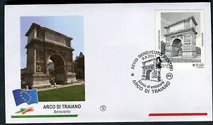 ITALY 2011 ARCO DI TRAIANO/ARCHAEOLOGY/ARTISTIC HERITAGE/VIEW/ANCIENT ROME FDC