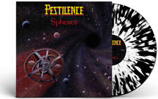 PESTILENCE - SPHERES LP LIMITED 100 WHITE SPLATTER VINYL MINT NEU SLAYER Wacken