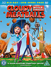 Cloudy With A Chance Of Meatballs (Blu-ray, 2010, 2-Disc Set)