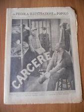 PICCOLA ILLUSTRAZIONE del POPOLO 3/1932 CARCERE dal film MGM