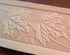 Belt Stamps Set #3 for Embossing Vegetable Tannned Tooling Leather Belt Blanks.