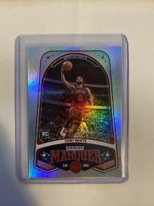 2019-20 Chronicles COBY WHITE Marquee Rookie Card #237. Bulls.