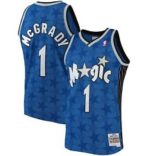 Orlando Magic Tracy McGrady Mitchell Ness Blue 2001-02 Hardwood Classics Jersey