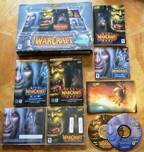 WARCRAFT III BATTLE CHEST COMPLETE (PC CD-ROM) Contents Unused - VGC+
