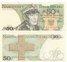 Polonia 1988,50 ZLOTYCH..P-142,, UNC (AV)