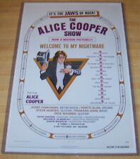 Alice Cooper Welcome to My Nightmare 11X17 Movie Poster