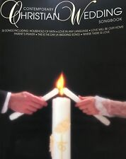 """""""Contemporary Christian Wedding Songbook"""" Piano/Vocal/Guitar Music Book-New-Sale"""
