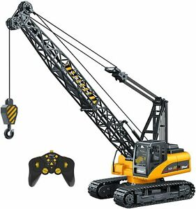 15 Channel Remote Control Professional Toy Crane, Construction With Lights Sound