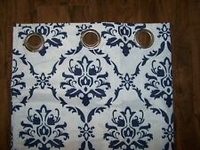 CLEARANCE NEW W/O TAGS Exquisite Blue & White Blackout Curtains
