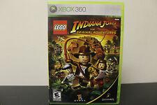 LEGO Indiana Jones: The Original Adventures  (Xbox 360, 2008) *Tested/Complete