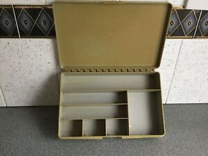 Vintage Stewart Fishing Tackle Box And Contents