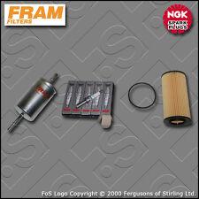 SERVICE KIT for VOLVO S40 II 2.5 T5 FRAM OIL FUEL FILTER IRIDIUM PLUGS 2004-2012