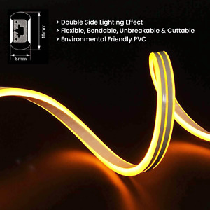 ATOM Led Strip Neon Flex Light Waterproof IP67 LED 220V Double Sided Warm White