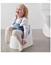 IKEA LOCKIG - Children's Potty Green White Green Trainer Baby New Toddler Seat