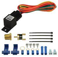 "Derale 16739 Premium Fan Controller Kit with 3/8"" NPT Temperature Sensor"