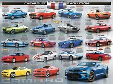 Jigsaw Puzzle Car Chevrolet Camaro Evolution 1000 pieces NEW Made in USA