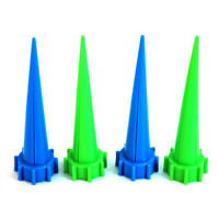 KQ_ FP- KQ_ 4Pcs Automatic Garden Cone Spike Watering Plant Flower Waterers Bott