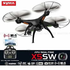 X5SW 6-Axis Quadcopter Drone Real Time Vidio WIFI Camera 2MP FPV RC Helicopter