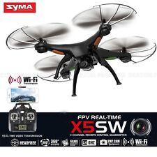 Cuadricóptero teledirigido X5SW 6-Axis Tiempo Real Video Wifi Cámara 2MP FPV RC Helicóptero