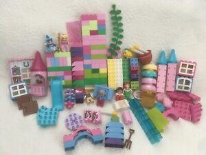 Duplo - lot Princess, Ariel, Flounder, Disney, random pieces from different sets