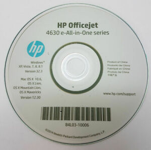 Clone of HP CD Driver Software Disc for OfficeJet 4630 all in One Printer