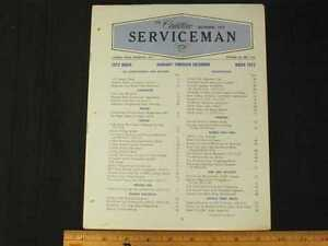 1972 Cadillac Serviceman Complete 12 Issues Service Bulletin Set