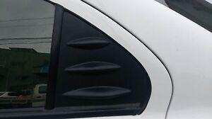 Window Deflector Side Cover Fins for MITSUBISHI Lancer Fortis 08-16 Pattern