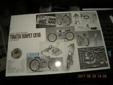 GUNZE 1/12 HIGH-TECH MODEL TOHATSU RUNPET CR50 SUPER KIT BIKE MOTOCYCLE (koo)