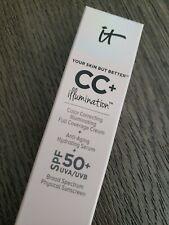 IT Cosmetics CC+ Illumination Color Correcting Cream SPF 50 LIGHT  NEW AUTH