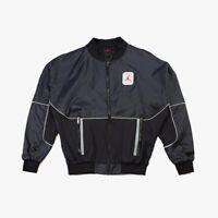 Nike Air Jordan Legacy AJ5 Jacket Black Red CU1666-010 Size Men's Small New