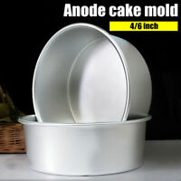 Tools Dish Kitchen Aluminum Alloy Die Pudding Mold Fixed Bottom Cake Pan Tray