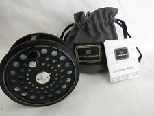 """HARDY  ULTRALITE DISC SALMON 4"""" REEL IN ITS HARDY DRAW STRING POUCH"""