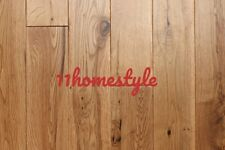 125mm Solid Oak Flooring UV Lacquered Clear Smooth Natural Real Wood Floors