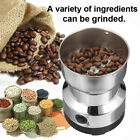 Electric Stainless Coffee Bean Grinder Nut Seed Herb Spice Crusher Mill Blender