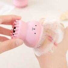 CLEANSING BRUSH Silicone Pore Cleaner Exfoliating Washing Brush FREE Shipping !